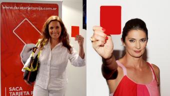 """Campaña """"Tarjeta roja al maltratador"""""""