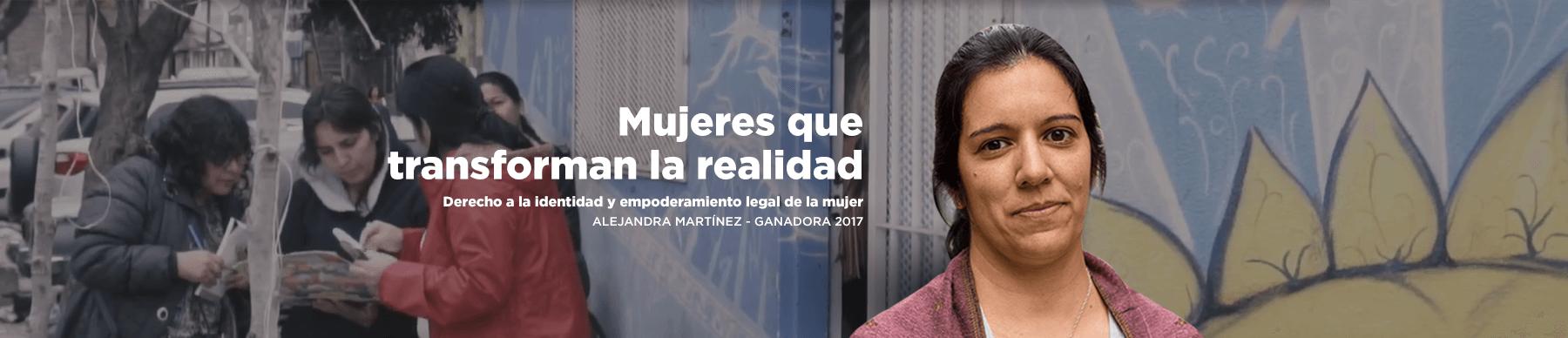 Mujeres que transforman la realidad