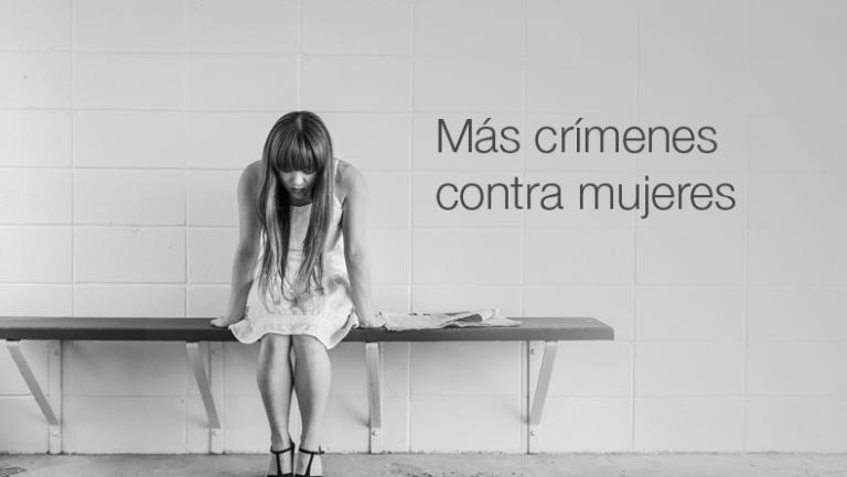 Más crímenes contra mujeres