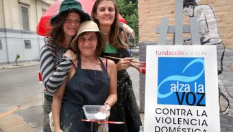 Artistas pintan la ciudad y alzan la voz contra la violencia de género