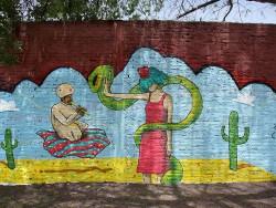 Artistas pintan la ciudad