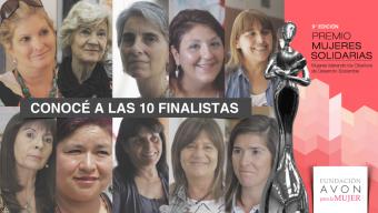 El Premio Mujeres Solidarias ya tiene a sus 10 finalistas