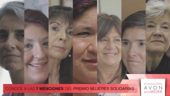 Conocé a las protagonistas del Premio Mujeres Solidarias 2016