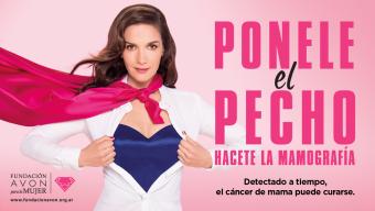 Natalia Oreiro le pone el pecho para Ganarle al Cáncer de Mama