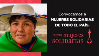 Convocamos a mujeres solidarias de todo el país