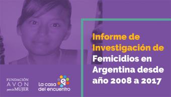 2008-2017: 10 años del informe de femicidios por La Casa del Encuentro