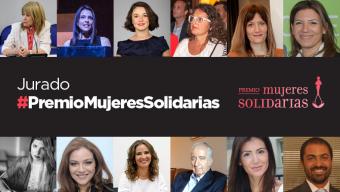 Jurado #PremioMujeresSolidarias 2018