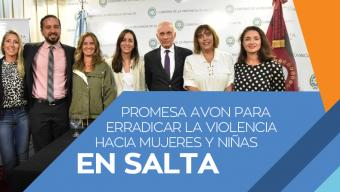 AVON y Fundación AVON realizaron la donación de $1.000.000 para el equipamiento de Hogares de Protección Integral en Salta