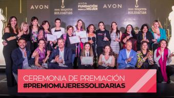 Te las presentamos, ellas son ganadoras del  Premio Mujeres Solidarias 2019.