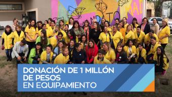 AVON y Fundación AVON donaron 1 millón de pesos para el equipamiento de un Hogar de Protección Integral en Chaco