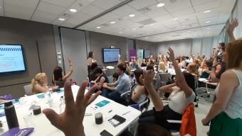40 referentes de empresas trabajando contra la violencia laboral basada en género