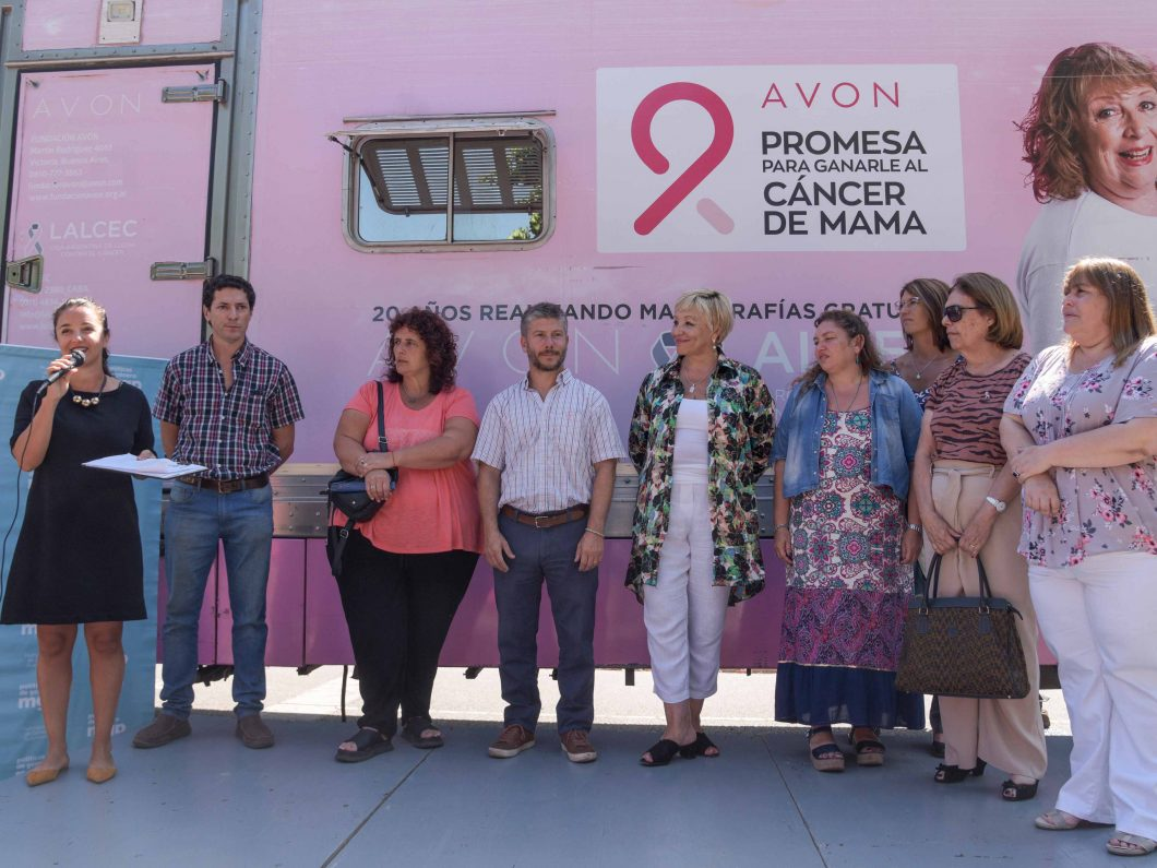 Lanzamiento mamógrafo 2020