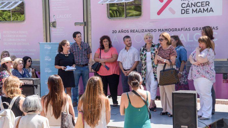 FUNDACIÓN AVON y LALCEC dieron inicio al recorrido del Mamógrafo Móvil 2020