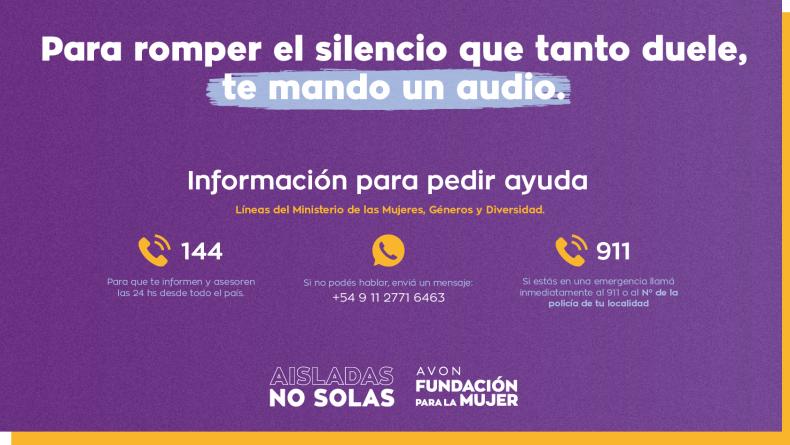 #TeMandoUnAudio: la campaña que busca romper el silencio